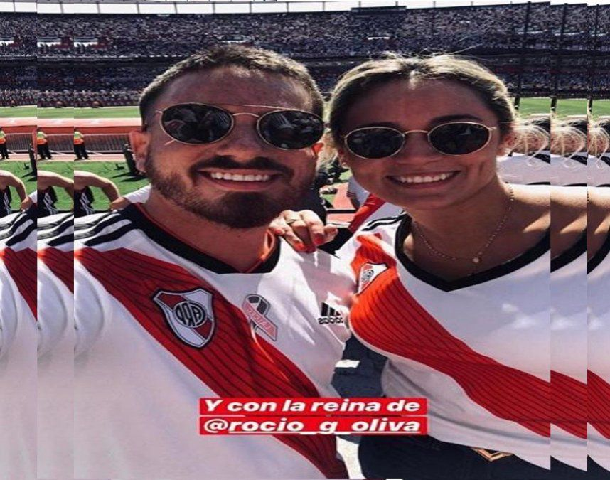 Fede Bal se saca fotos con Rocío Oliva y dice: Hay que pedirle perdón a la gente de Boca