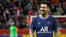 Después de ver el partido de Futsal en su TV Mirror, Lionel Messi entrenó hoy con el PSG