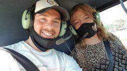 Lizy Tagliani le contestó a quienes la criticaron por volar en helicóptero con su novio, festejando su cumpleaños