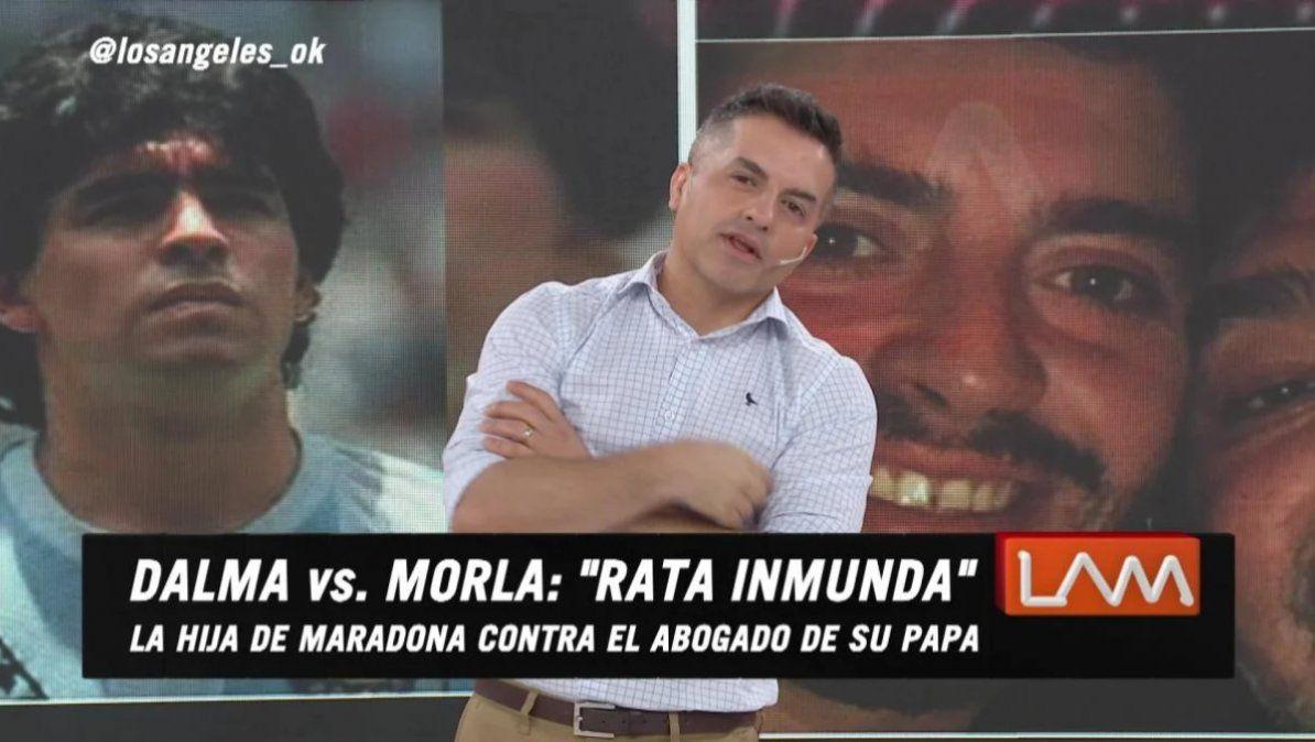 Los ángeles de la mañana involucrado en la pelea legal de Claudia Villafañe y Matías Morla