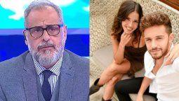¿Quiénes son?: el ninguneo de Jorge Rial a Cande Molfese y Ruggero Pasquarelli