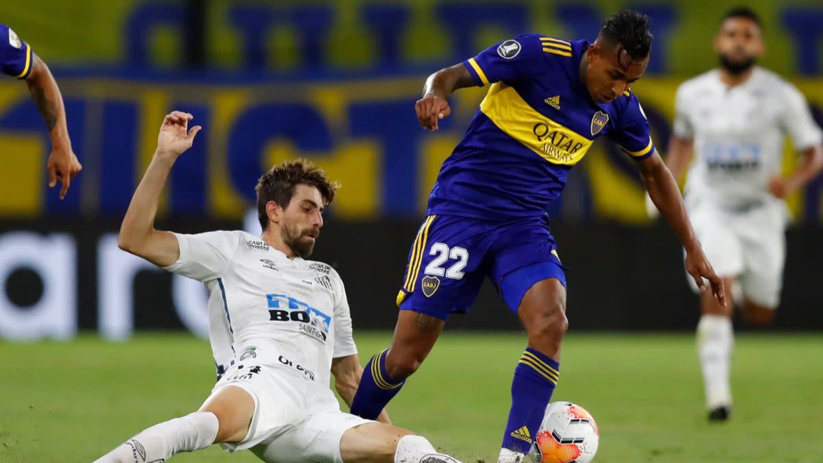 Boca Juniors deberá enfrentar al Santos y vencer en Brasil para clasificarse a la ronda final de La Libertadores