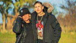 L-Gante y su madre,Claudia Valenzuela