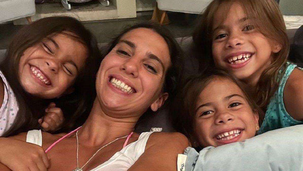 Cinthia Fernández habló con sus hijas sobre la violencia de género