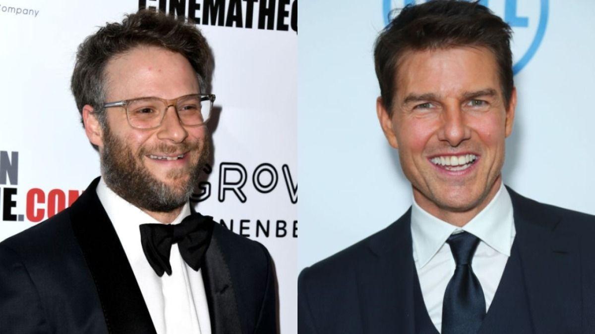 Seth Rogen dijo que Tom Cruise trató de meterlo en la Cienciología