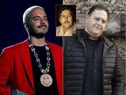 J Balvin habla de su relación con el hijo de Pablo Escobar