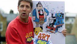Neil Buchanan fue acusado de ser el artista Banksy