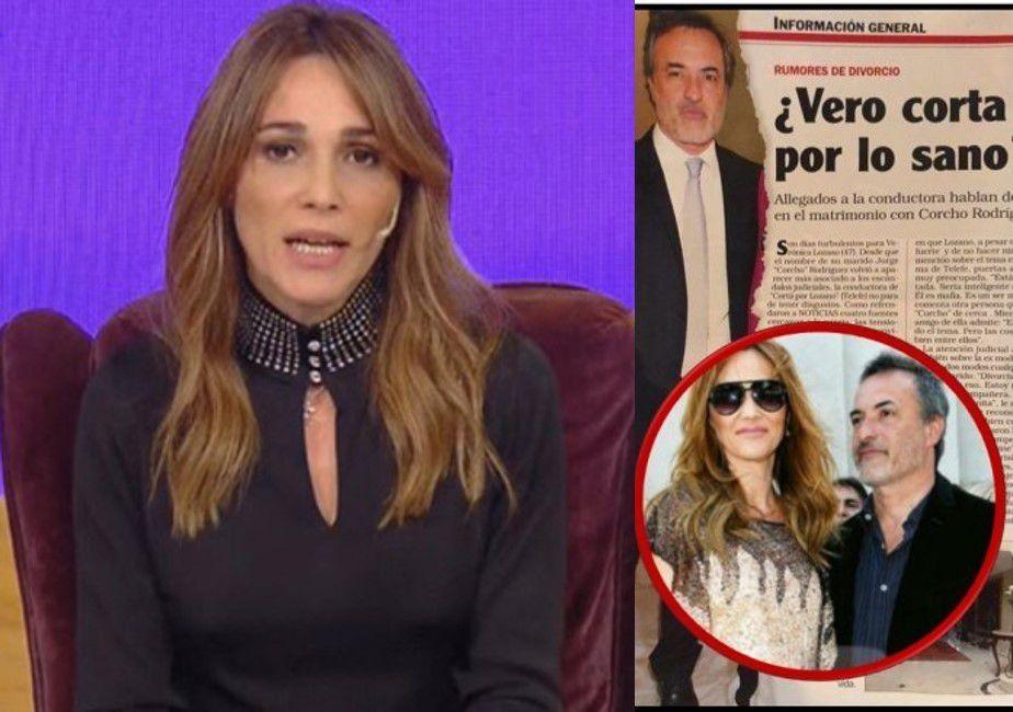 El audio que Verónica Lozano le dejó a la revista Noticias por los rumores de divorcio: Me rompe los huevos...