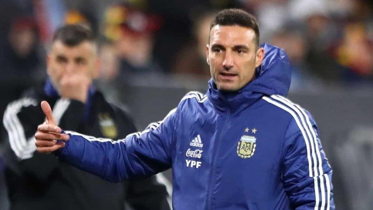 Lioenal Scaloni presentó una lista preliminar de jugadores de la Selección Argentina que podría jugar en La Copa América