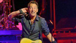 El cantante Bruce Springsteen tiene 71 años