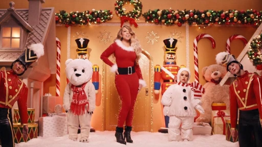 Mariah Carey la reina de la Navidad