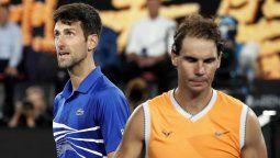 ¡Superado! Rafa Nadal se quedó sin un récord en manos de Novak Djokovic