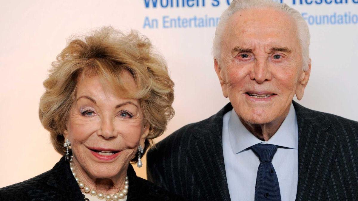 Kirk Douglas y Anne Buydens estuvieron casados por 66 años