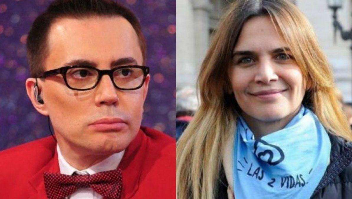 Marcelo Polino y Amalia Granata protagonizaron un tenso cruce