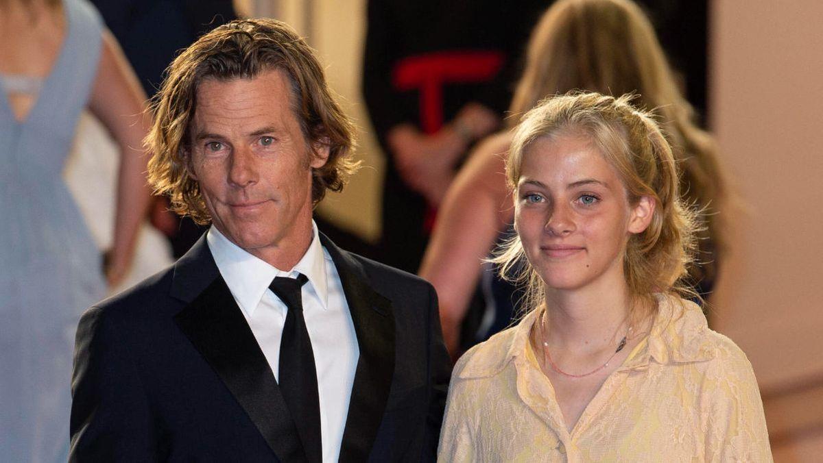 Daniel Moder junto a la hija que tiene con la actriz Julia Roberts Hazel