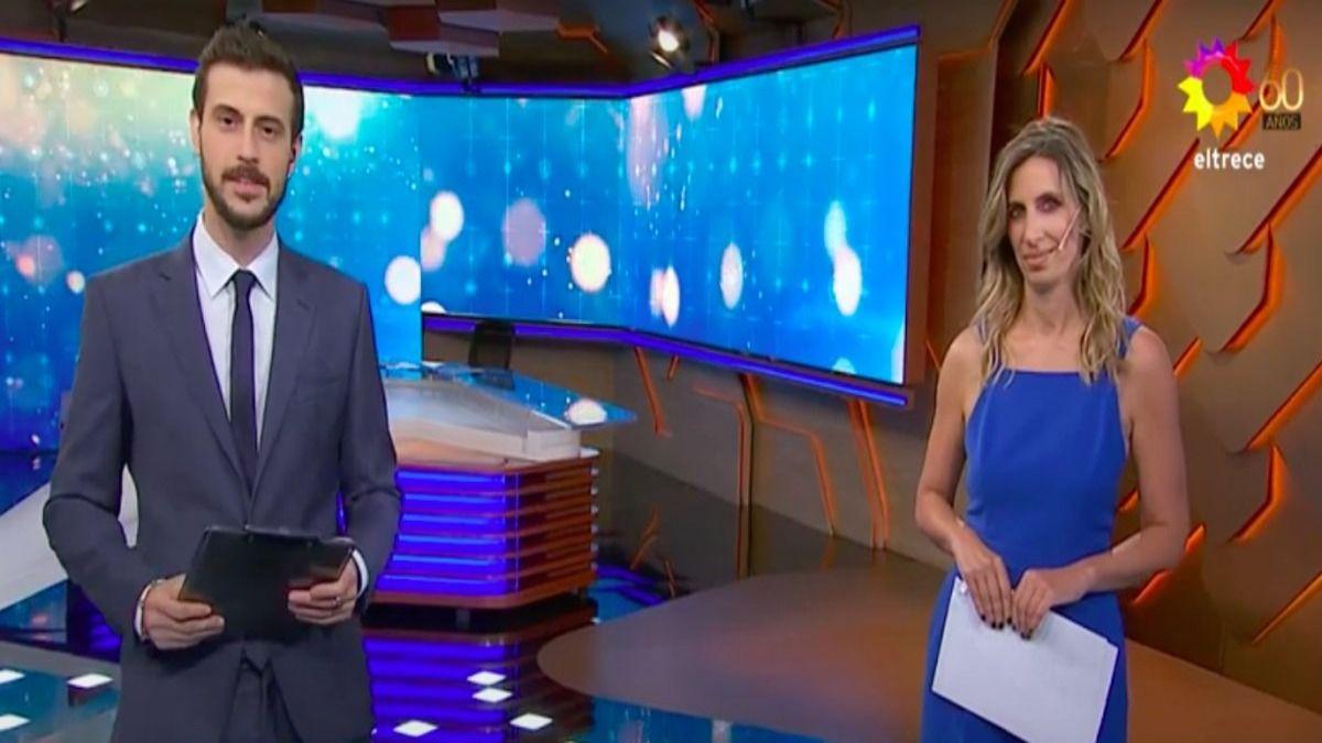 Diego Leuco y Luciana Geuna son los nuevos presentadores de Telenoche