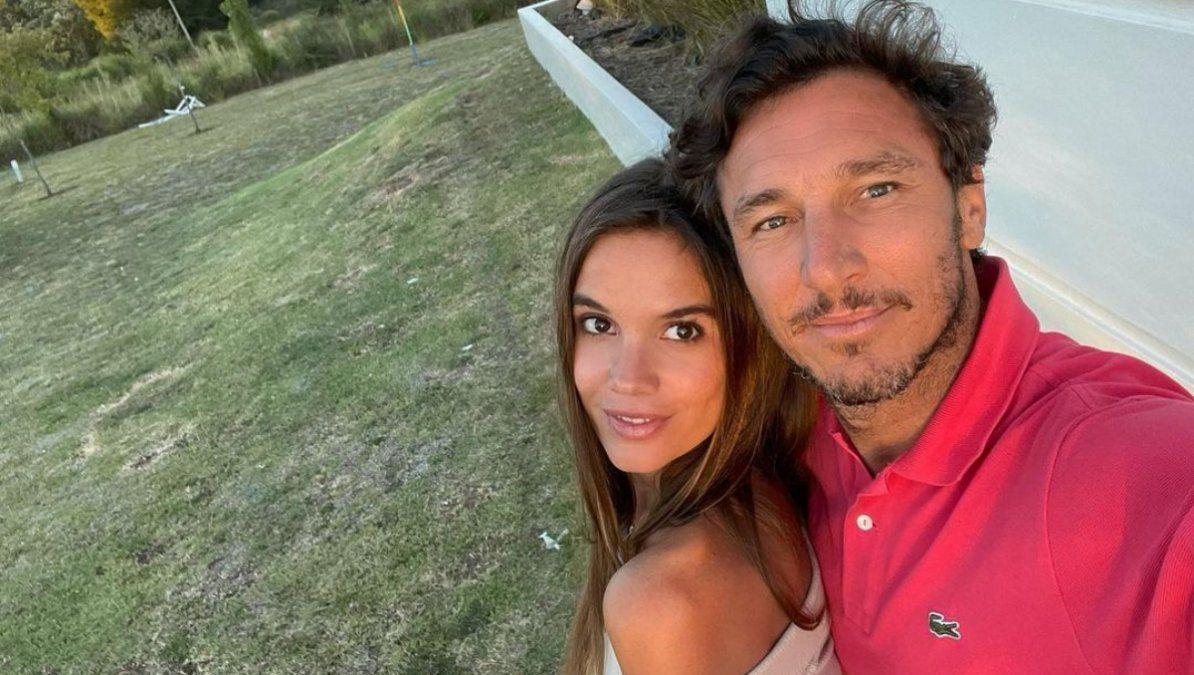 La esposa de Pico Mónaco anunció el sexo de su bebé