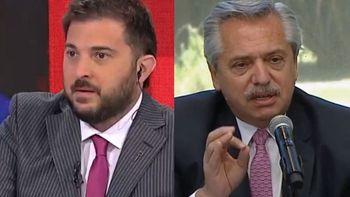 Diego Brancatelli envió un polémico mensaje al presidente