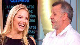 El Gran Premio de la Cocina: Carina Zampini chicaneó a Christian Petersen