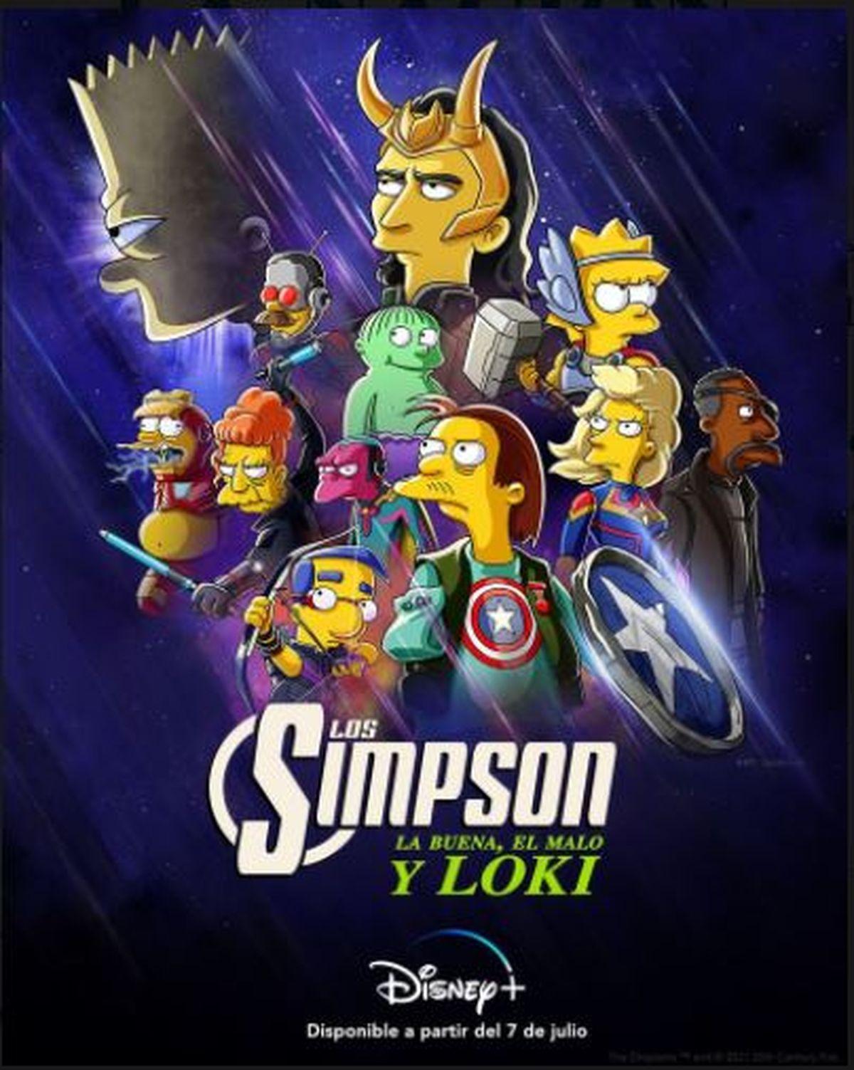 Este es el afiche del nuevo corto de Los Simpson: La buena