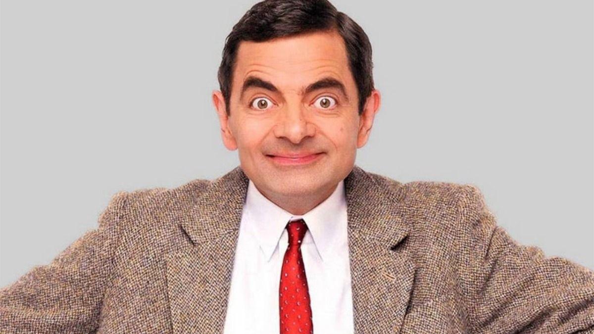 El actor Rowan Atkinson representado a Mr. Bean