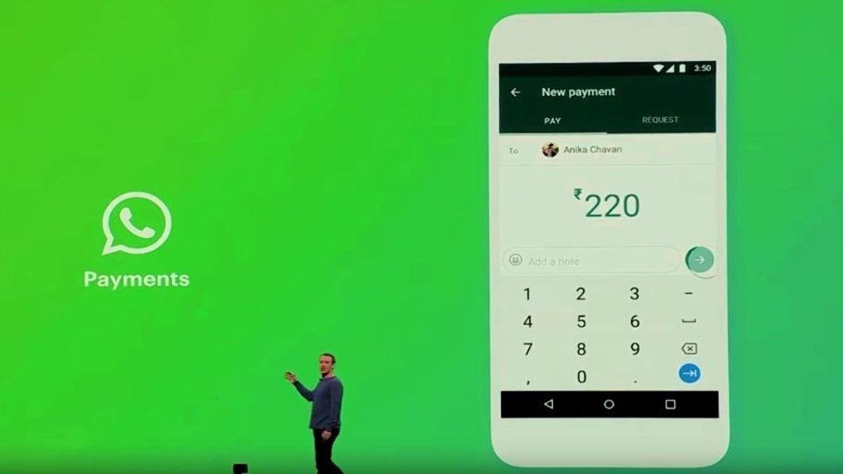 El CEO de Facebook Mark Zuckerberg durante la presentación de la nueva funcionalidad de WhatsApp