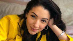 Thelma Fardin hizo un post para Diego Maradona