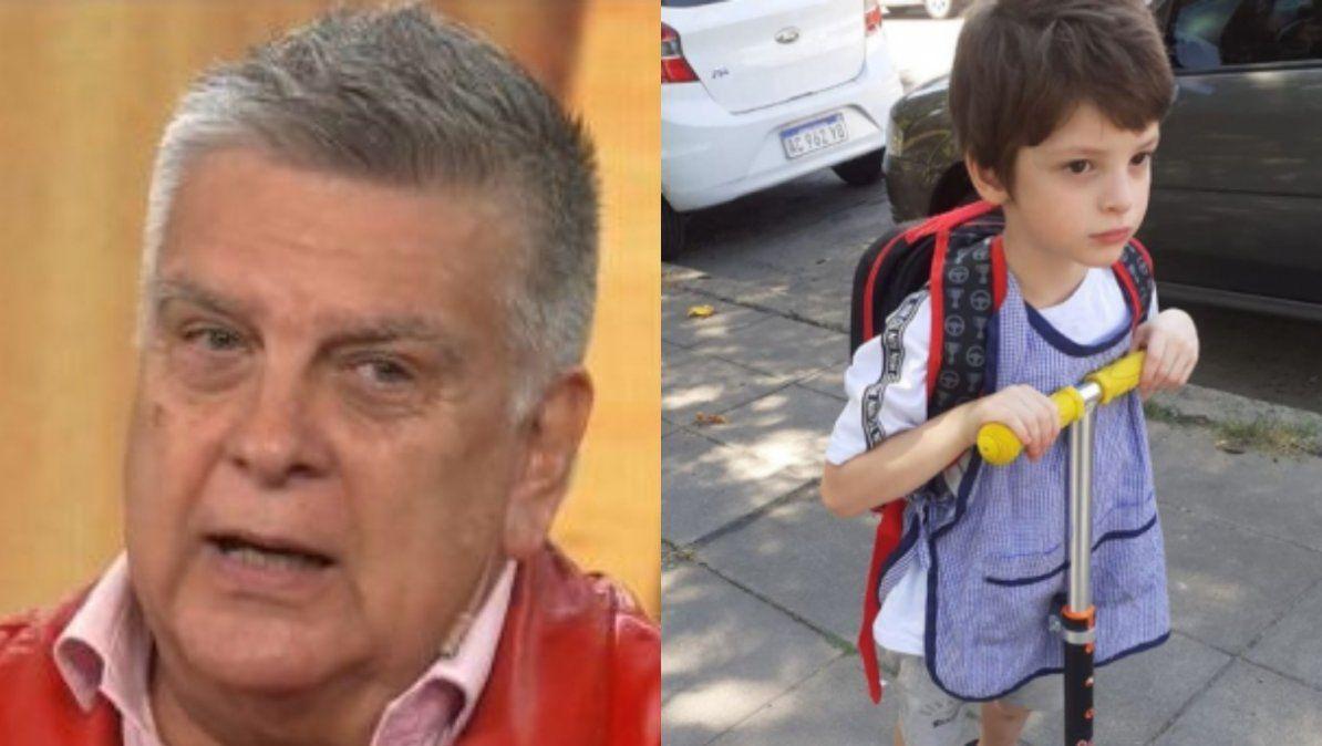 Luis Ventura contó por primera vez detalles del nacimiento de su hijo Antoñito: El venía con un mellizo