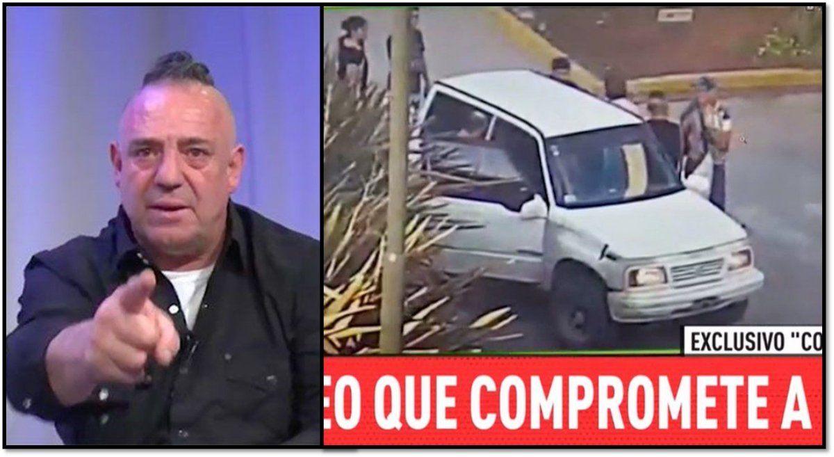 Apareció el video en donde Ricardo Iorio amenaza a un policía en una estación de servicio