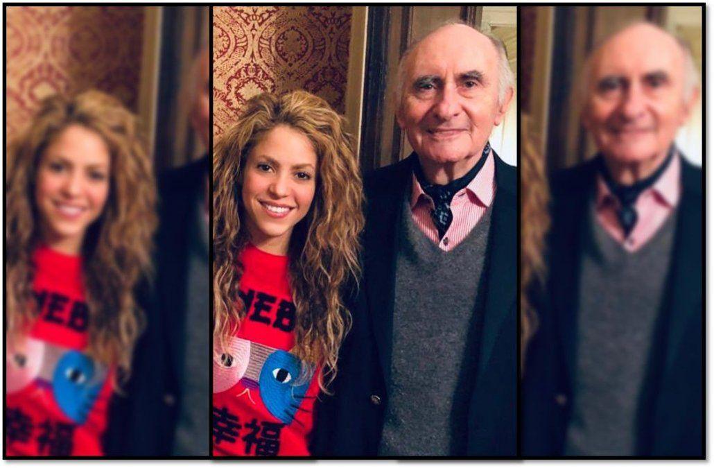 Shakira despidió al ex presidente Fernando de la Rúa; a quien admirada y sentía como un amigo