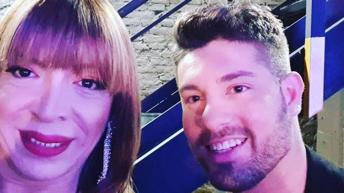 Lizy Tagliani y su novio Leo Alturria (1)