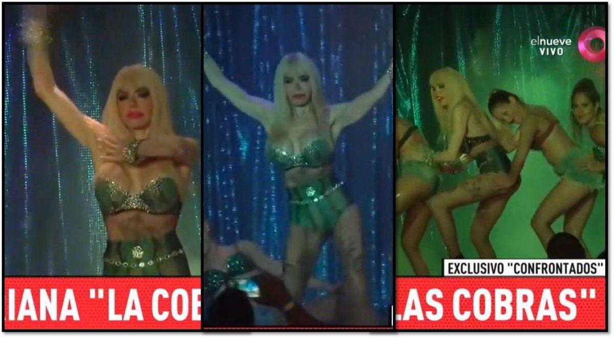 La nueva Cobra: después de Jimena Barón, Adriana Aguirre hace su coreo del tema y se transforma en una víbora abuela