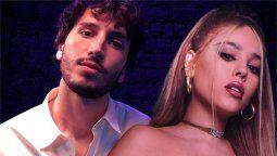 Danna Paola y Sebastián Yatra lanzan versión acústica de No Bailes Sola