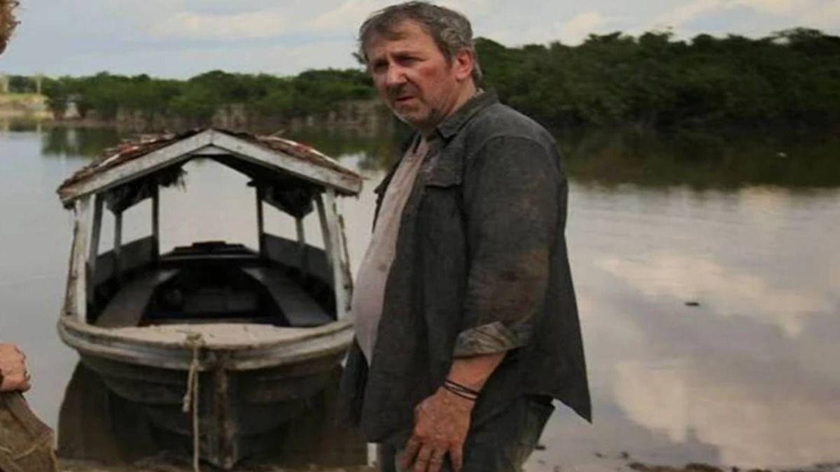 El director Robertino Granados en una escena de Planta Madre