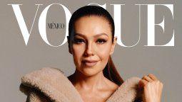 ¡Sueño cumplido! Thalía es la portada de Vogue