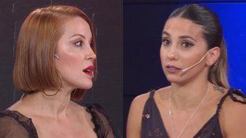 Cinthia Fernández incomodó a Miriam Lanzoni en vivo