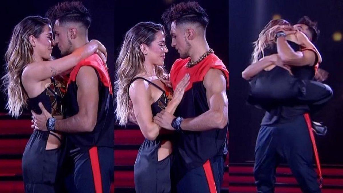 ¡Hot! El baile lento de Jimena Barón y Jony Lazarte
