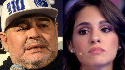 Magalí Gil pide el ADN de Diego Maradona