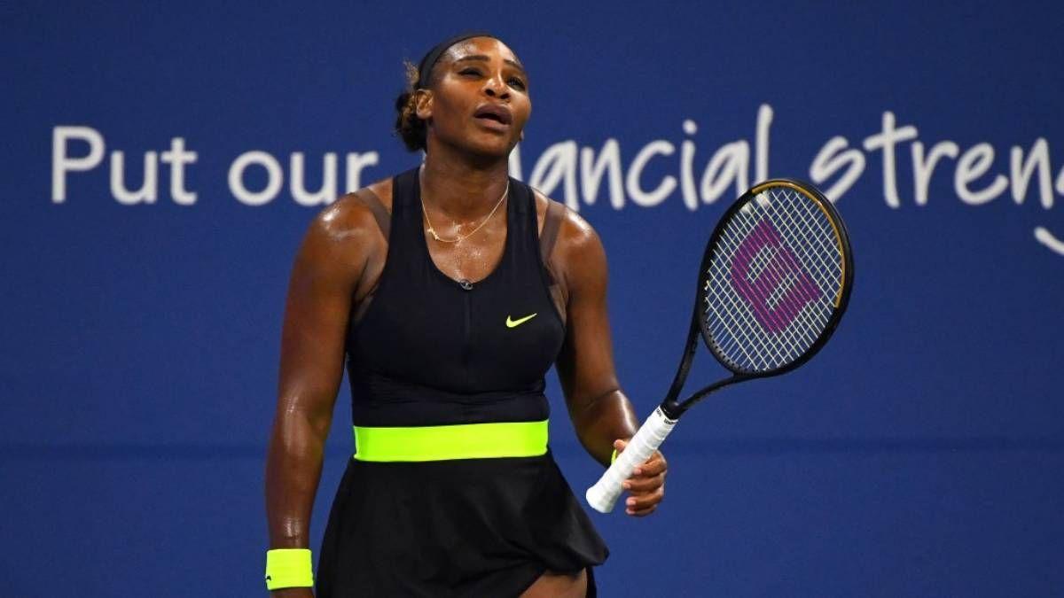 ¡Perdió! Y Serena Williams declara: Es como salir con un chico que sabes que apesta