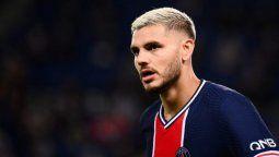 El jugador Mauro Icardi podría dejar el PSG y aterrizar en La Roma
