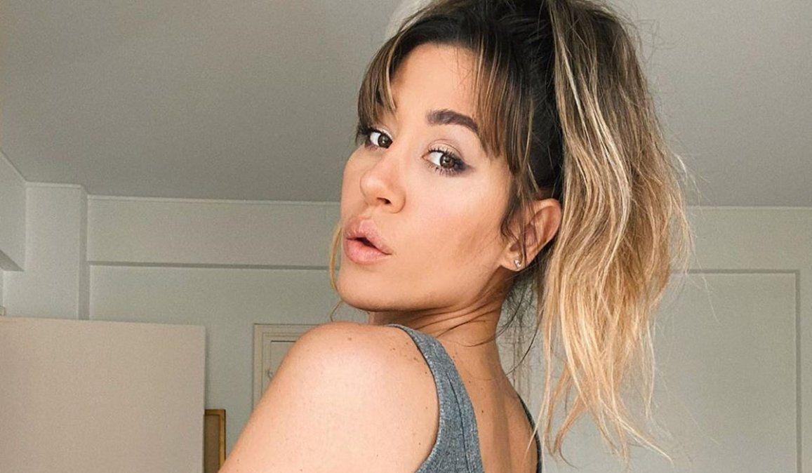 Foto de prueba: Jimena Barón negó estar embarazada