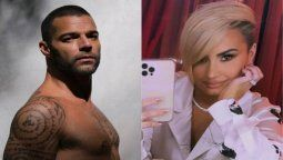 ¡Que se vaya! Ricky Martin y Demi Lovato piden a Donald Trump que se rinda