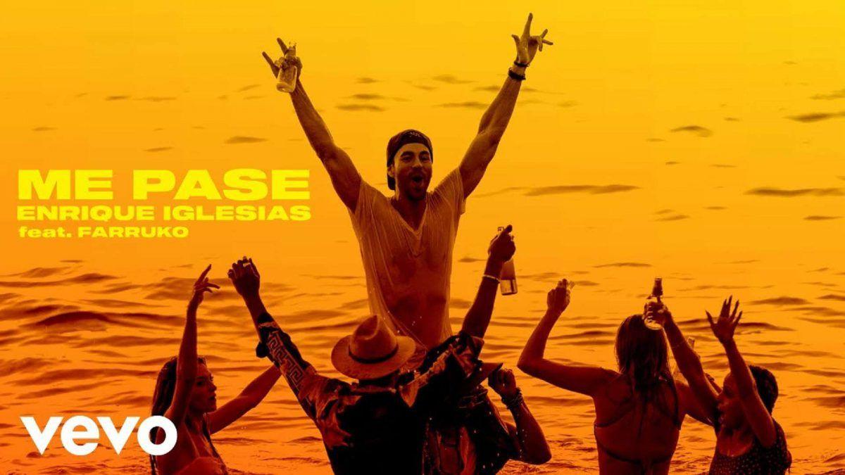 Enrique Iglesias lanza Me Pasé junto a Farruko