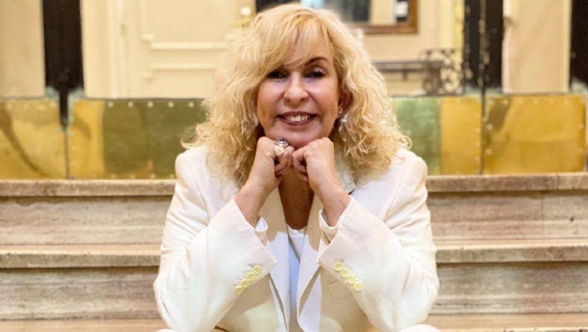 Georgina Barbarossa dijo que vacunar famosos es estupidez