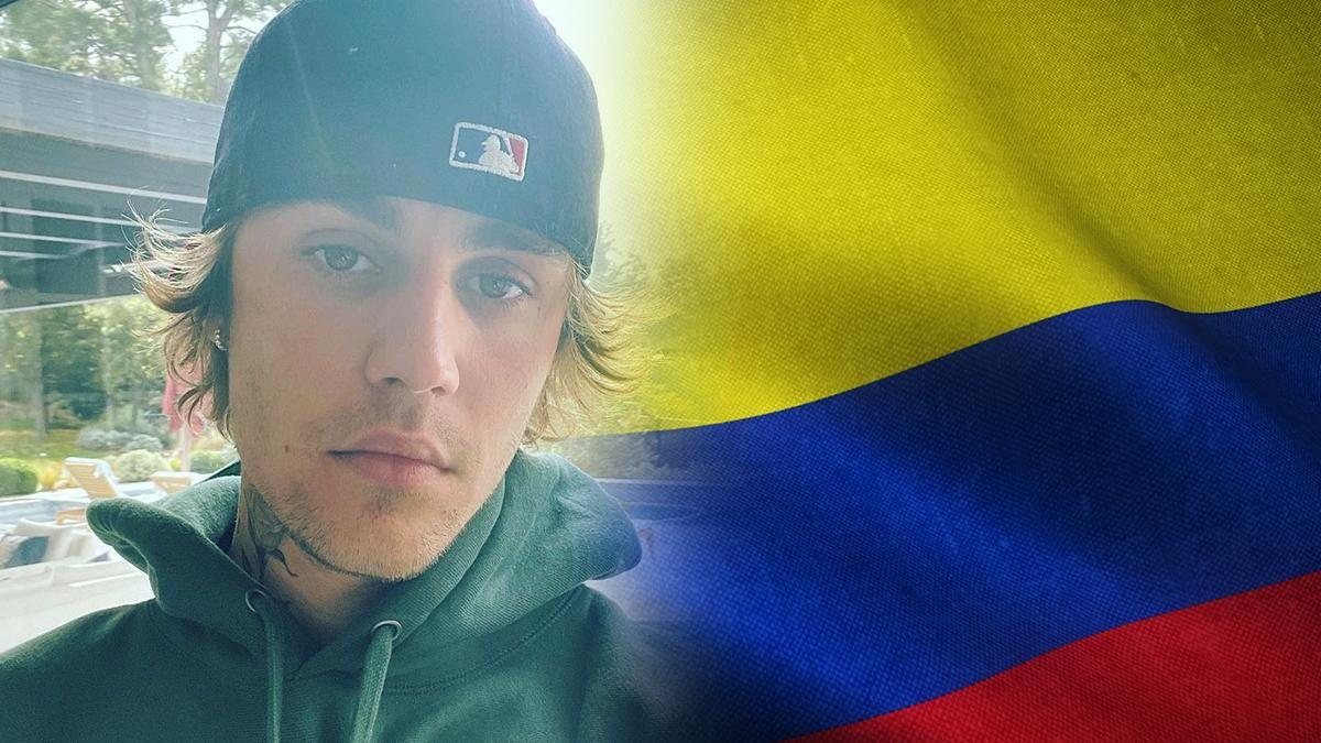 Justin Bieber y varios artistas alzaron su voz por Colombia.