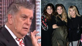Luis Ventura con todo contra Cluadia Villafañe y sus hijas: No se sabe si son familia