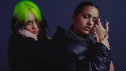 ¡Qué dúo! Rosalía y Billie Eilish lanzan una canción