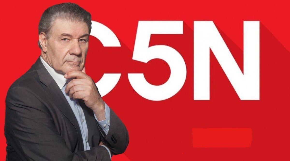 Víctor Hugo Morales, en guerra con C5N: ajuste de gastos y menos promociones