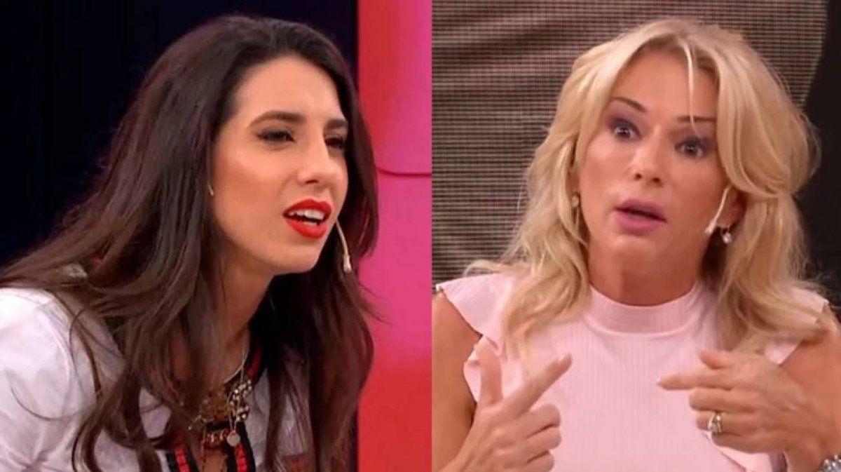 Yanina Latorre explotó al aire con Cinthia Fernández