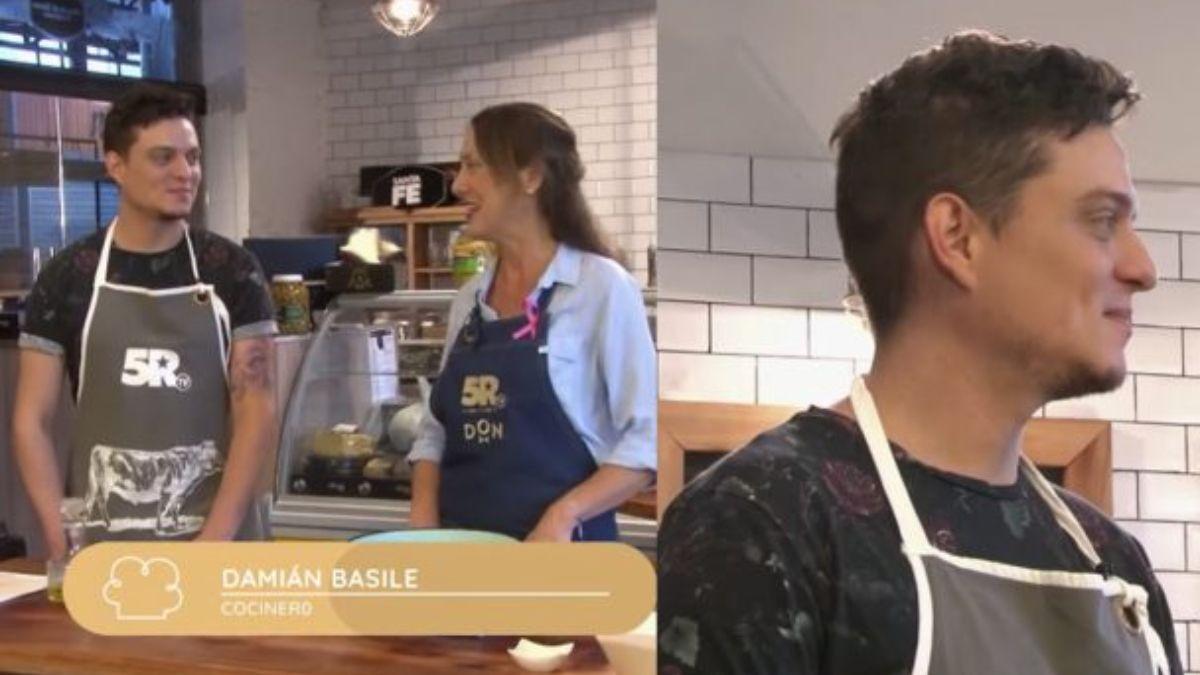 Video: Damian de Bake off también había estado en un programa de cocina